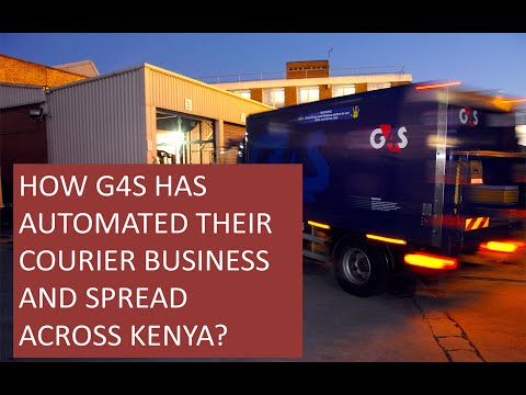Automated Courier Management System - Kenya