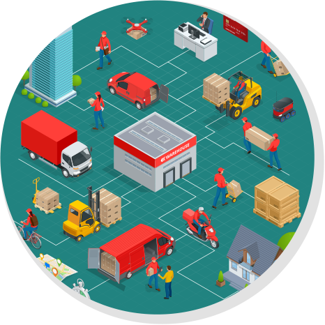 Direct store delivery software, Direct Store Delivery, LogixGRID | Platform and Application for logistics management, LogixGRID | Platform and Application for logistics management