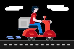 Free Delivery Boy Vector 01 e1466258335914