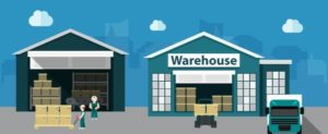 warehouse_concepts_design_with_delivery_process_illustration_6825543