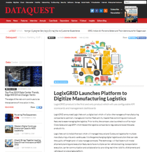 Logistics media center, Media Center, LogixGRID | Platform and Application for logistics management, LogixGRID | Platform and Application for logistics management