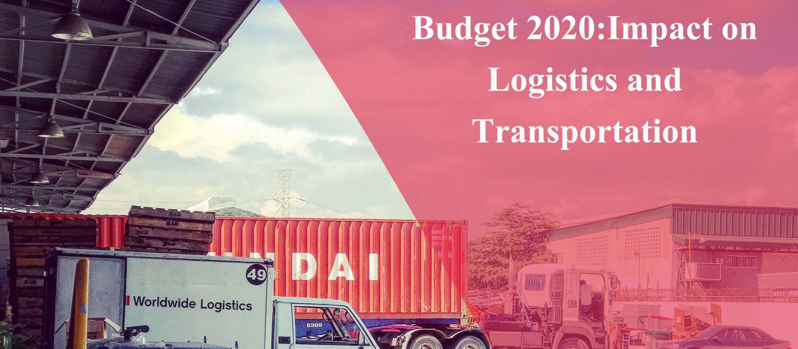 logistics budget 2020